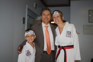Quick picture with Grand Master Nam.